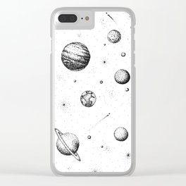 Milky Woah Clear iPhone Case