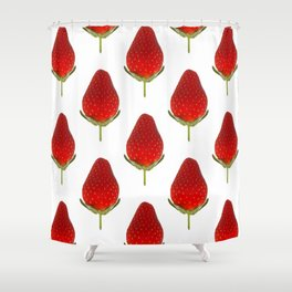 It's Strawberry Time Shower Curtain