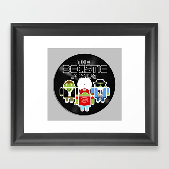 The Beastie Droids Framed Art Print