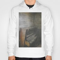 piano Hoodies featuring Piano by Claudia Ma
