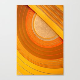 Union Terminal Ceiling 1 Canvas Print