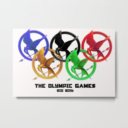 The Olympic Games Metal Print