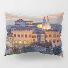 Palacio Nacional de Sintra at dusk, Portugal Pillow Sham