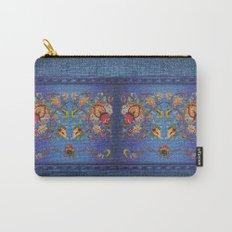 Denim Designs Jacobean Border Carry-All Pouch