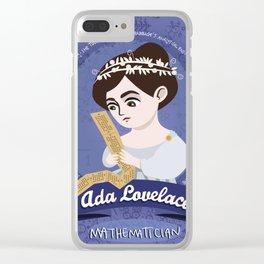 Women in science | Ada Lovelace, mathematician Clear iPhone Case