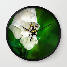The Bumble Bee Wall Clock