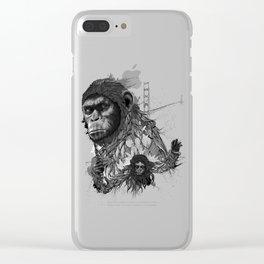 Caesar Clear iPhone Case