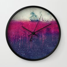 Sailing in dreams II Wall Clock