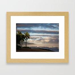 North Shore Hawaii Framed Art Print