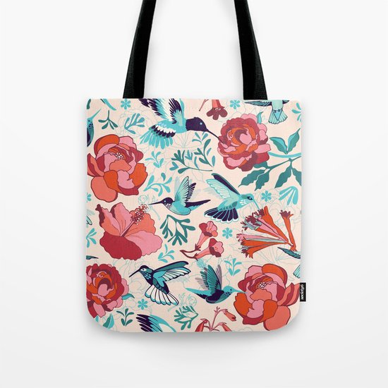 Hummingbird summerdance Tote Bag