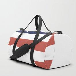 Bichon-Frise-tshirt,-patriotic-Bichon-Frise Duffle Bag