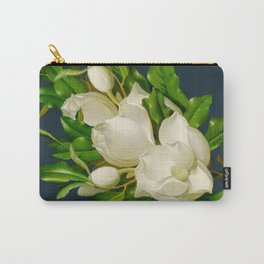 Queen Magnolia on Teal Carry-All Pouch