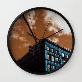 NYC Duotone 1 Wall Clock