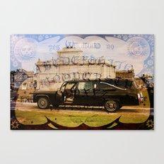 Golem Hearse Canvas Print