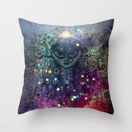 Durga the Goddess Throw Pillow