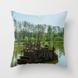 Machine Throw Pillow