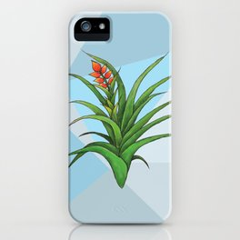 Geometric Air Plant iPhone Case