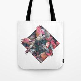 Northern Flickers and Honeysuckle berries Tote Bag