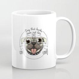 Dog that barks does not bite Coffee Mug
