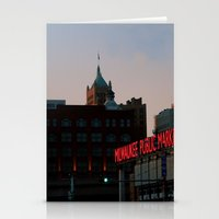 milwaukee Stationery Cards featuring Milwaukee by Tatum Kevlin