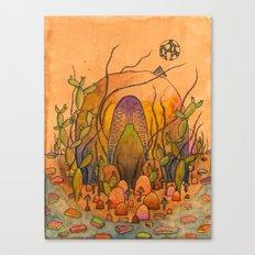 Ghost Shrine Canvas Print