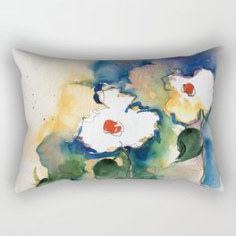 two simply flowers Rectangular Pillow