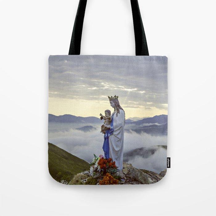bdbc07901b Vierge d'Orisson; Camino Frances Tote Bag by janicemf | Society6