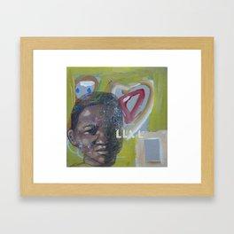 Swazi Art 3 Framed Art Print