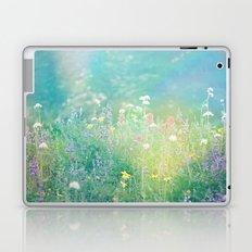 Mountain Wildflowers Laptop & iPad Skin