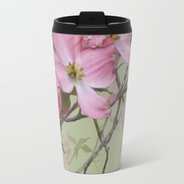 PINK FLOWERING DOGWOOD Travel Mug