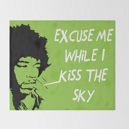 Woodstock Hendrix Throw Blanket