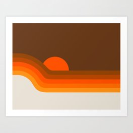 Golden Dipper Art Print