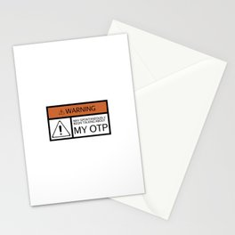 WARNING: OTP Stationery Cards