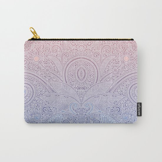 Delicate Pattern Carry-All Pouch