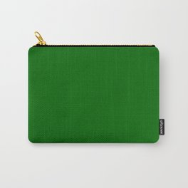 color dark green Carry-All Pouch
