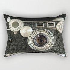 Vintage Range finder camera. Rectangular Pillow