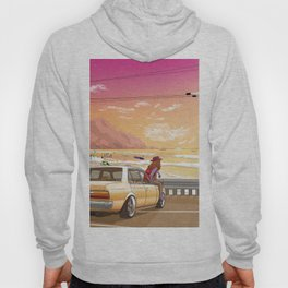 A time to reflect. Hoody
