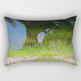 Disappearing in Plain Sight Rectangular Pillow