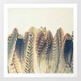 Feather Dip Art Print