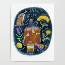 Wildflower Mead Poster