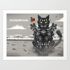Transformaws Art Print