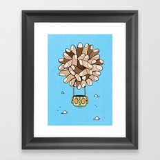 fingers Framed Art Print