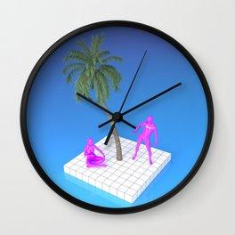 Island Crew Wall Clock
