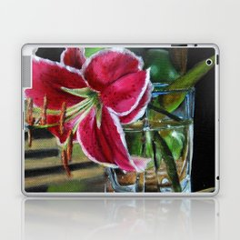 Stargazer Lily and Green Apples Laptop & iPad Skin
