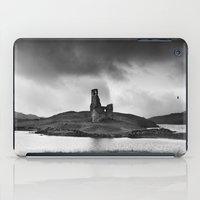 scotland iPad Cases featuring SCOTLAND, CASTLE by Carlos Sanchez