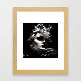 Woman Fashionista Framed Art Print