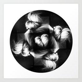 Love Buns Art Print