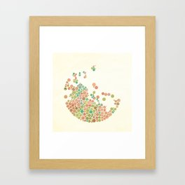 All in dots Framed Art Print