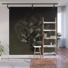 Lonely Hydra Wall Mural