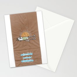 Drink it out of the bottle Stationery Cards